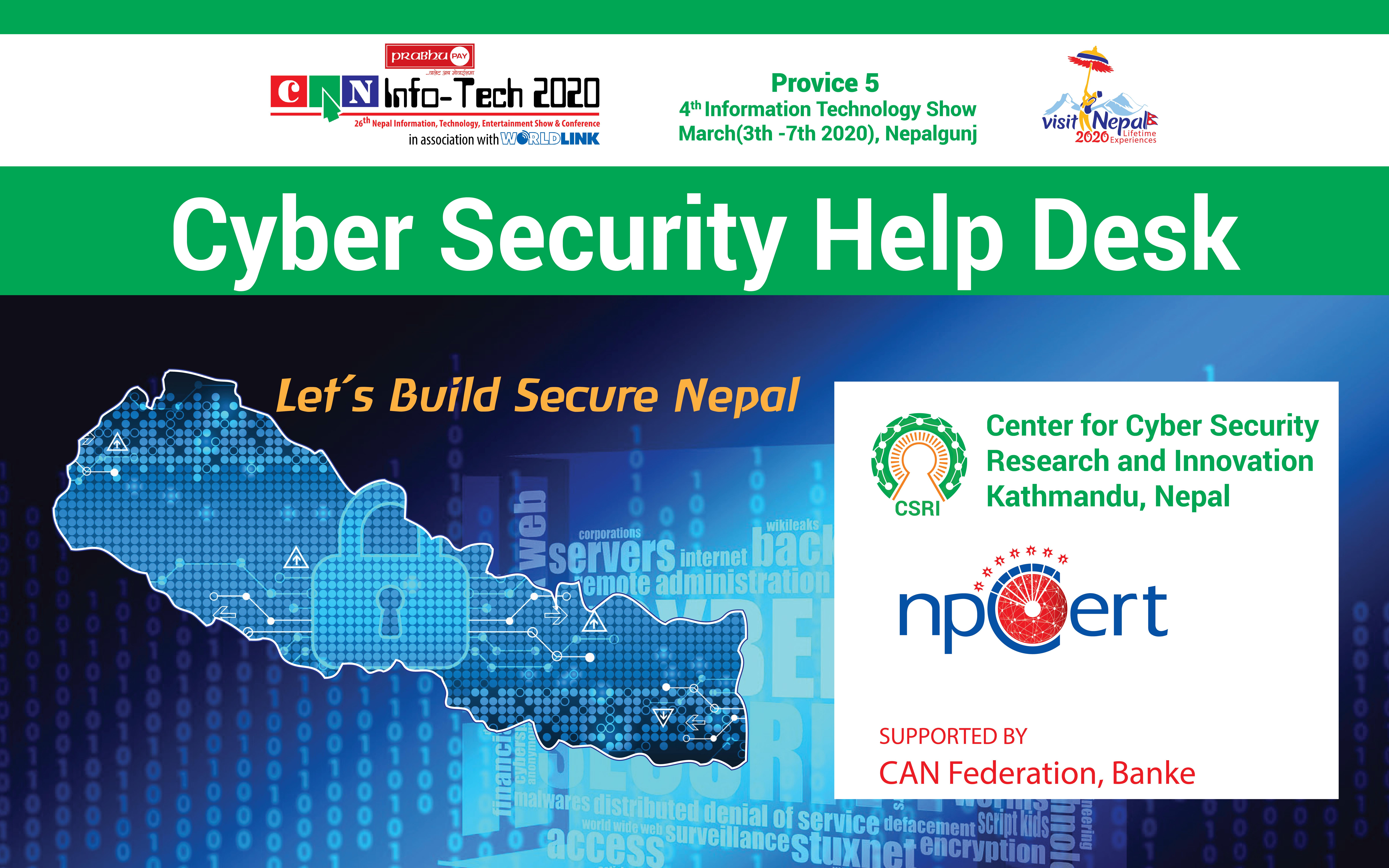 Cyber Security Help Desk Conducted At Nepalgunj Sub Metropolitan City